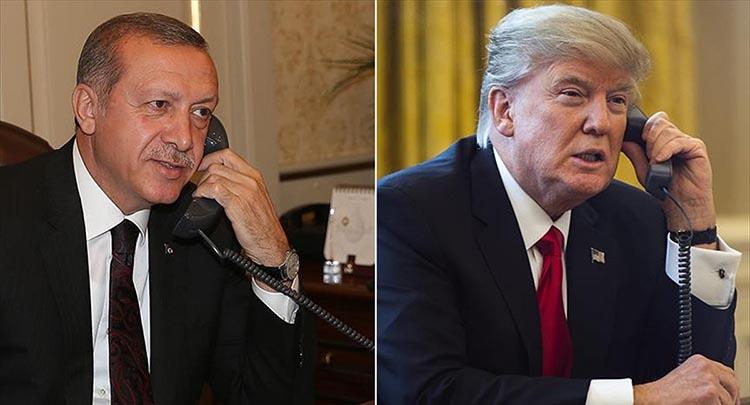 Erdoğan'dan Trump'a: PYD/YPG'ye destek vermeyin