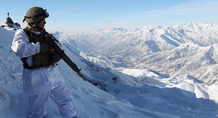 'Kar kaplanları' vatan savunmasında