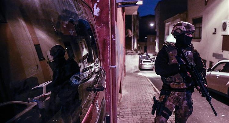 Ülke genelinde terör operasyonları: 520 gözaltı