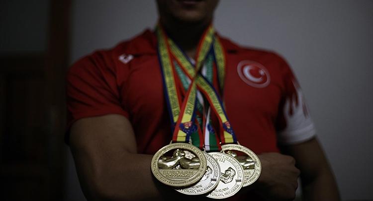 Türkiye'nin sporda madalyası arttı