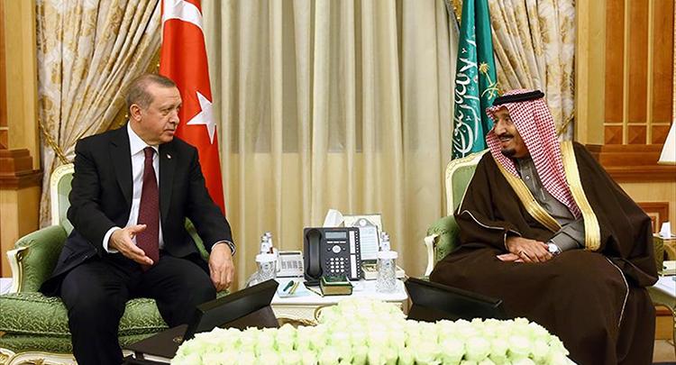 Erdoğan'dan Suudi Arabistan Kralına teşekkür