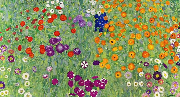 Klimt'in 'Çiçek Bahçesi' rekor fiyata satıldı