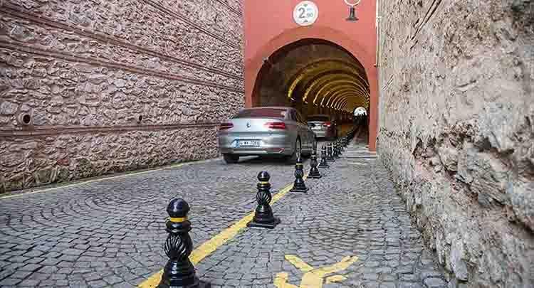 Beylerbeyi Sarayı Tüneli yenileniyor