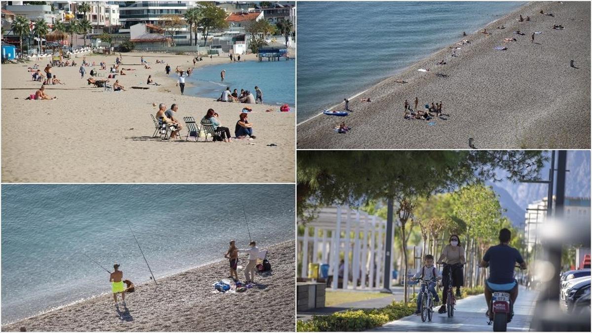 Antalya ve Didim'de kasım ayında deniz keyfi