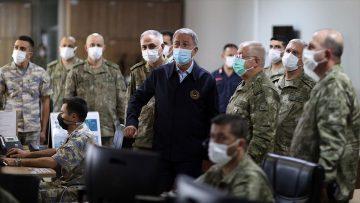 Bakan Akar'dan Yunanistan'a silahlanma tepkisi: Üç-beş kullanılmış uçakla güç dengelerinin değişmesi mümkün değil
