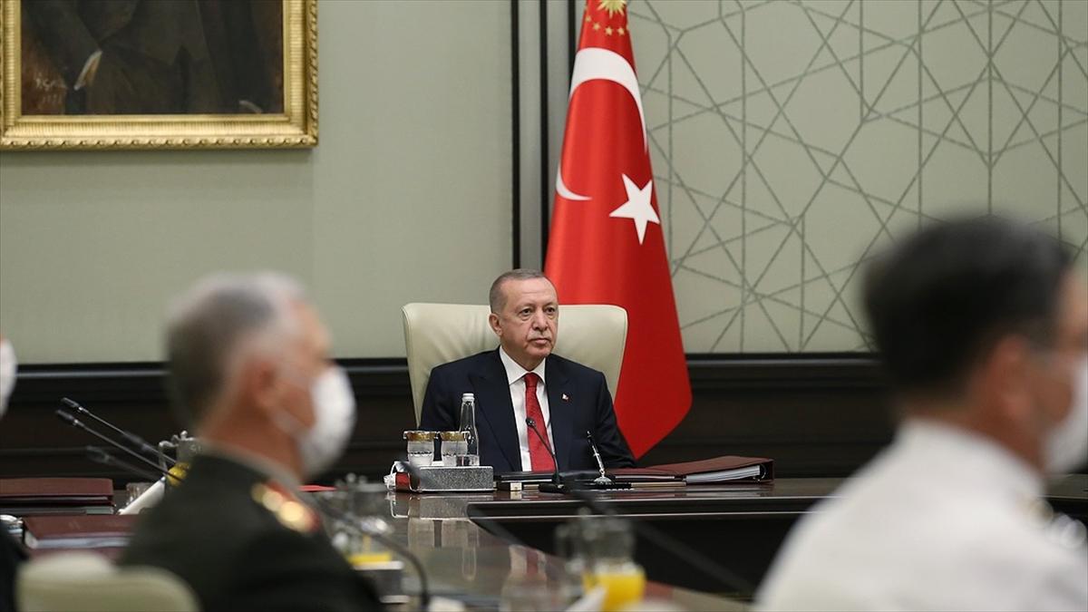 Cumhurbaşkanı Erdoğan başkanlığındaki Yüksek Askeri Şura bugün toplanacak