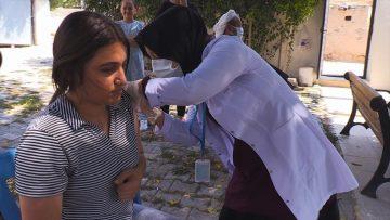 Kovid-19 aşı haritasında son sıradaki Şanlıurfa'da sahadaki ekip sayısı iki katına çıkarıldı