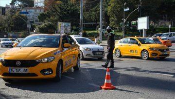 İçişleri Bakanlığı taksi şoförlerine '12 kural'ı hatırlattı