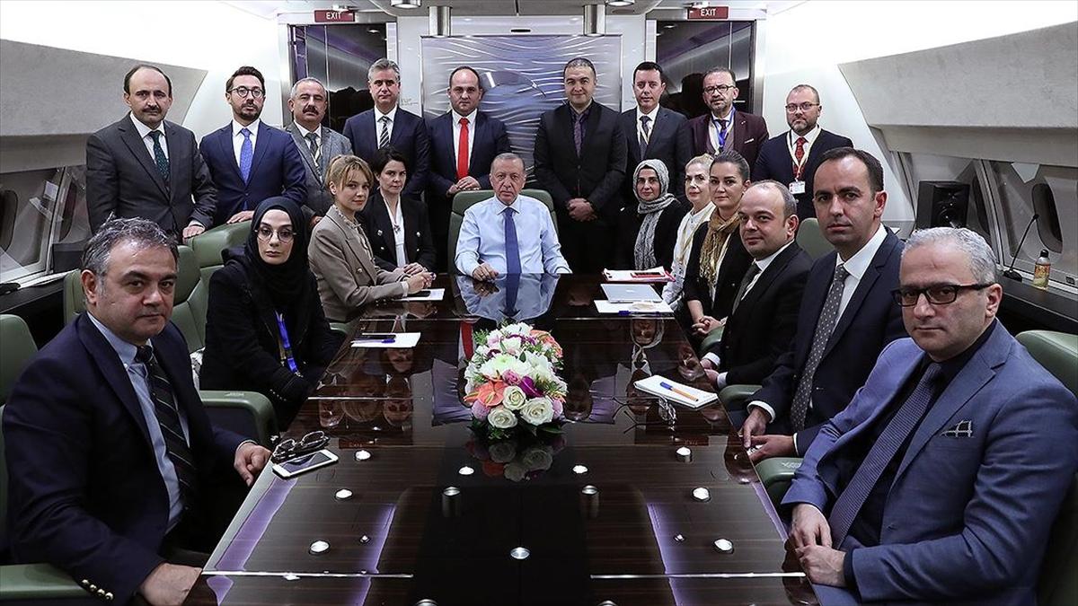 Cumhurbaşkanı Erdoğan: ABD Başkanı Biden'la Glasgow'da görüşmemiz olacak